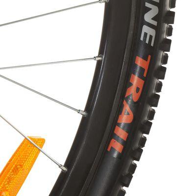vidaXL Ποδήλατο Mountain 27,5'' Κόκκινο με 21 Ταχύτητες 42 εκ.