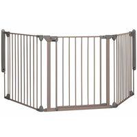 Safety 1st Πόρτα Ασφαλείας Modular 3 Γκρι 82-214 εκ. 3 Πάνελ 24226580