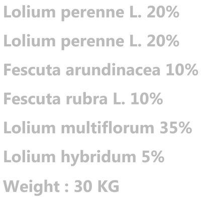 vidaXL Σπόροι Γκαζόν 30 κ. για Ξηρασία και Ζέστη