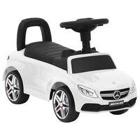 vidaXL Αυτοκίνητο Παιδικό Περπατούρα Mercedes-Benz C63 Λευκό