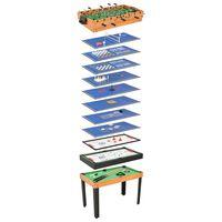 vidaXL Τραπέζι Πολλαπλών Παιχνιδιών 15 σε 1 Σφένδαμος 121x61x82 εκ.