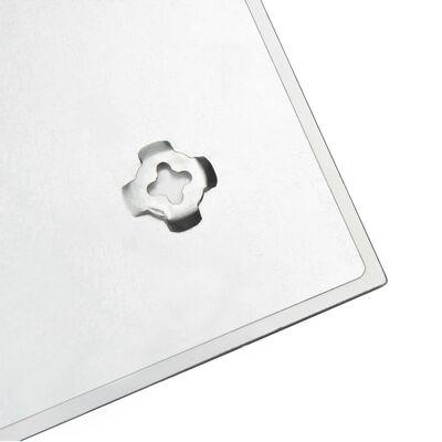 vidaXL Πίνακας Επιτοίχιος Μαγνητικός 50 x 50 εκ. Γυάλινος