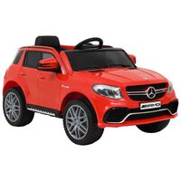 vidaXL Αυτοκίνητο Παιδικό Mercedes Benz GLE63S Κόκκινο Πλαστικό