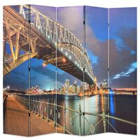 vidaXL Διαχωριστικό Δωματίου Γέφυρα στο Λιμάνι του Σίδνεϊ 200x170 εκ.