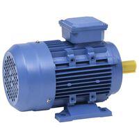 vidaXL Ηλεκτρικός Κινητήρας Τριφασικός Αλουμινίου 4kW / 5,5HP 2840 RPM