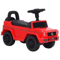 vidaXL Παιδικό Αυτοκίνητο Περπατούρα Mercedes-Benz G63 Κόκκινο