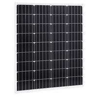 vidaXL Ηλιακό Πάνελ Μονοκρυσταλλικό 80 W Αλουμίνιο / Γυαλί Ασφαλείας