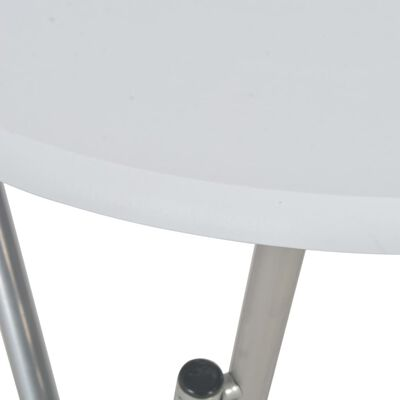 vidaXL Τραπέζι Μπαρ Λευκό 60 x 112 εκ. από MDF