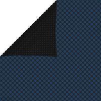 vidaXL Κάλυμμα Πισίνας Ηλιακό Μαύρο/Μπλε 800x500 εκ. από Πολυαιθυλένιο