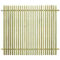 vidaXL Φράχτης Κήπου 170 x 150 εκ. από Εμποτισμένο Ξύλο Πεύκου