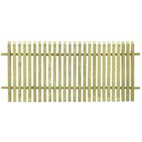 vidaXL Φράχτης Κήπου 170 x 75 εκ. από Εμποτισμένο Ξύλο Πεύκου