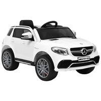 vidaXL Αυτοκίνητο Παιδικό Mercedes Benz GLE63S Λευκό Πλαστικό