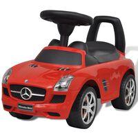 Mercedes Benz Αυτοκίνητο Παιδικό Ποδοκίνητο Κόκκινο