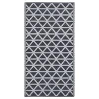 vidaXL Χαλί Εξωτερικού Χώρου Μαύρο 160 x 230 εκ. από Πολυπροπυλένιο