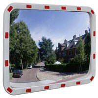 Καθρέφτης Ασφαλείας Κυρτός Ορθογώνιος 60 x 80 εκ. με Ανακλαστήρες
