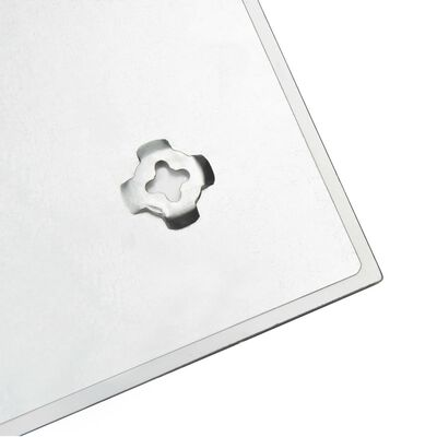 vidaXL Πίνακας Επιτοίχιος Μαγνητικός 60 x 20 εκ. Γυάλινος