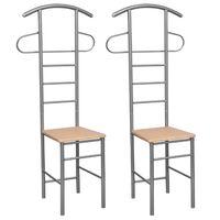 2 x καρέκλα κρεμάστρα
