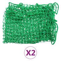 vidaXL Δίχτυα για Τρέιλερ 2 τεμ. 2 x 3 μ. από Πολυπροπυλένιο