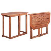 vidaXL Τραπέζι Bistro 90 x 50 x 75 εκ. από Μασίφ Ξύλο Ακακίας