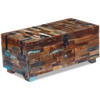 vidaXL Τραπεζάκι Σαλονιού / Μπαούλο 80 x 40 x 35 εκ. Ανακυκλωμένο Ξύλο
