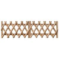 vidaXL Πόρτες Φράχτη 2 τεμ. 300 x 60 εκ. Εμποτισμένο Ξύλο Πεύκου