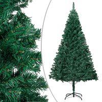 vidaXL Χριστουγεννιάτικο Δέντρο με Πλούσια Κλαδιά Πράσινο 180 εκ. PVC