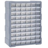 vidaXL Κουτί Αποθήκευσης/Οργάνωσης με 60 Συρτάρια 38 x 16 x 47,5 εκ.