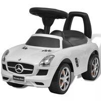 Mercedes Benz Αυτοκίνητο Παιδικό Ποδοκίνητο Λευκό