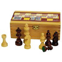 Abbey Game Πιόνια για Σκάκι 87 χιλ. Μαύρα/Λευκά 49CL