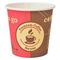vidaXL Ποτήρια Καφέ μιας Χρήσης 1000 τεμ. 120 ml (4 oz) Χάρτινα