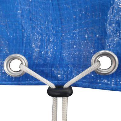 vidaXL Κάλυμμα Πισίνας Στρογγυλό 360-367 εκ. 90 γρ./τμ. Πολυαιθυλένιο