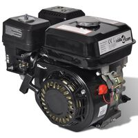 Βενζινοκινητήρας 6,5 HP 4,8 kW Μαύρος