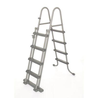Bestway Σκάλα Πισίνας Ασφαλείας με 4 Σκαλοπάτια Flowclear 122 εκ 58331