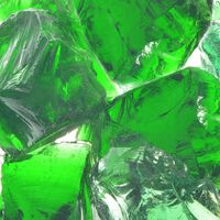 vidaXL Πέτρες Συρματοκιβωτίου Πράσινες 60-120 χιλ. 25 κ. από Γυαλί