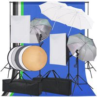 vidaXL Κιτ Φωτισμού για Στούντιο Φωτογράφισης