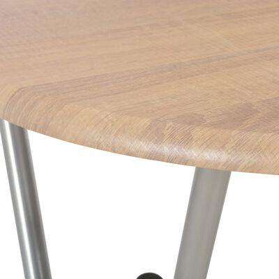vidaXL Τραπέζια Μπαρ 4 τεμ. Χρώμα Δρυός 60 x 112 εκ. από MDF