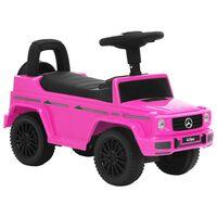 vidaXL Παιδικό Αυτοκίνητο Περπατούρα Mercedes-Benz G63 Ροζ