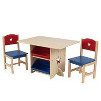 KidKraft Σετ Τραπέζι και 2 Καρέκλες Σχέδιο Αστεριού