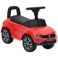 vidaXL Παιδικό Αυτοκίνητο Περπατούρα Volkswagen T-Roc Κόκκινο