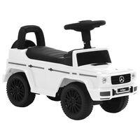 vidaXL Παιδικό Αυτοκίνητο Περπατούρα Mercedes-Benz G63 Λευκό