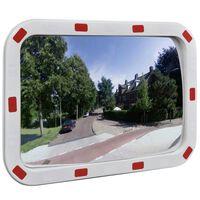 Καθρέφτης Ασφαλείας Κυρτός Ορθογώνιος 40 x 60 εκ. με Ανακλαστήρες