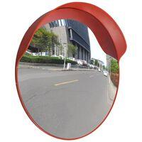 Καθρέφτης Ασφαλείας Κυρτός Εξωτερ. Χώρου Πορτοκαλί 60 εκ. Πλαστικό PC