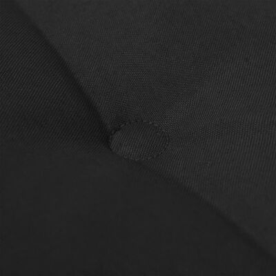 vidaXL Μαξιλάρι για Παγκάκι Κήπου Μαύρο 180 x 50 x 4 εκ.