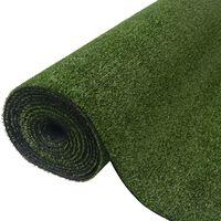 vidaXL Χλοοτάπητας Συνθετικός Πράσινος 0,5 x 5 μ./7-9 χιλ.