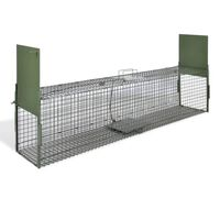 vidaXL Παγίδα Ζώων με 2 Πόρτες 150 x 30 x 30 εκ.