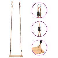 vidaXL Board Swing 200 cm Solid Pinewood