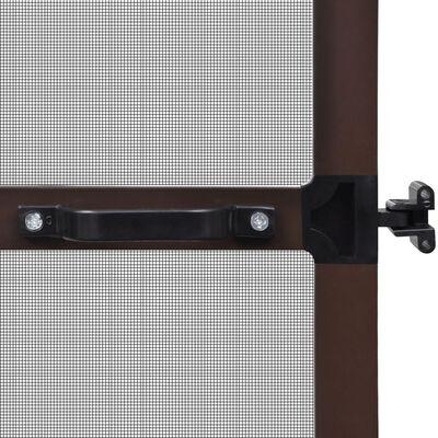 Σήτα Πόρτας με Μεντεσέδες Καφέ 100 x 215 εκ.