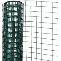 Nature Συρματόπλεγμα Τετράγωνο Πράσινο 0,5 x 2,5 μ. 13 χιλ. Ατσάλινο