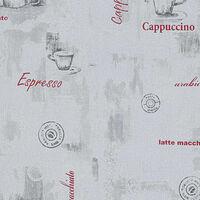 vidaXL Non Woven Ρολά Ταπετσαρίας Σχέδιο Καφέ 4 τεμ. Λευκά 0,53x10 μ.
