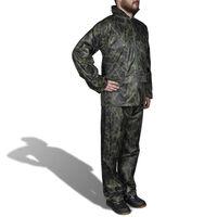 Σετ αδιάβροχο με κουκούλα Ανδρικό Παραλλαγή XL
